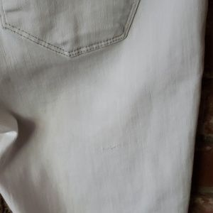 James Jeans Jeans - James Jeans White Twiggy style